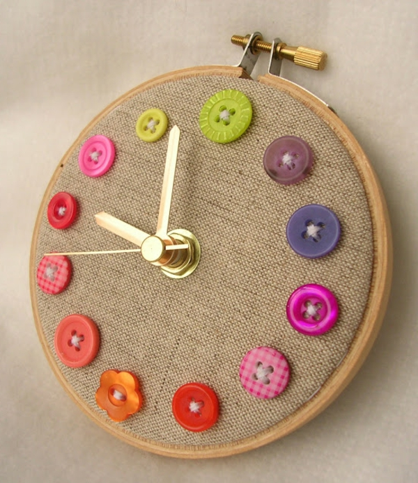 Crafting ideas-with-buttons-varrás-eredeti design - DIY