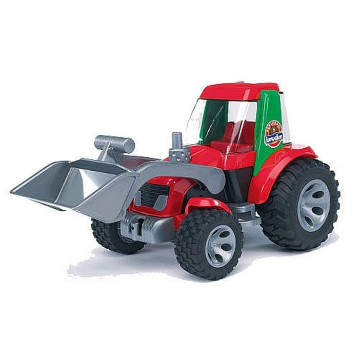 Brother Toy Tractor с Frontloader - Brother Roadmax