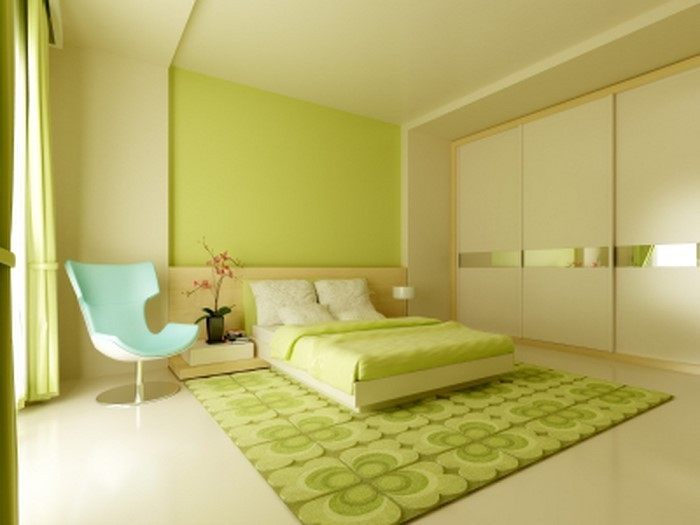 colori per la camera da letto interna verde-a-moderna