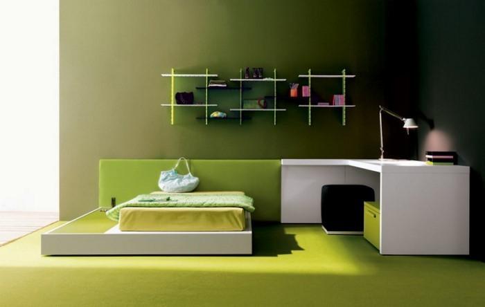 Culori pentru dormitorul verde-a-super-design