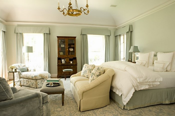 Colori per la camera da letto Green-a-Dection-Cold