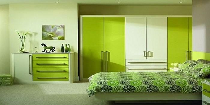 colori per la stanza verde-A-cool-Еinricung