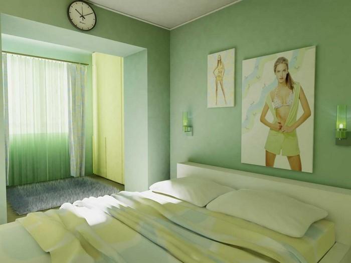 Culori pentru camera verde A Super-еinrichtung