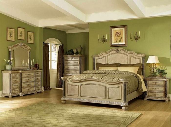 colores para la habitación verde Un super-diseño