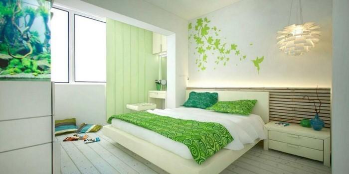 Colori per la camera da letto Green-A-Large Attrezzature'équipement vert-A-grand