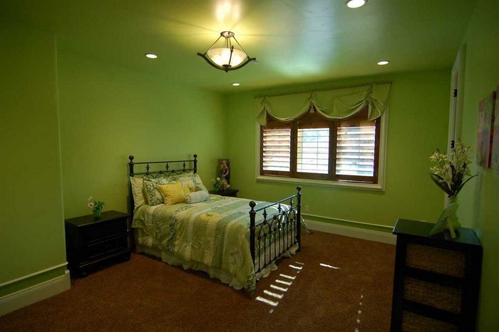 Culori pentru dormitor Green-a-Sutshirt еinrichtung