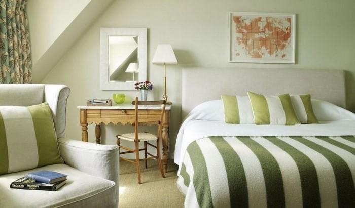 Colori per la camera da letto L 'Green-A-superba Attrezzatura'équipement vert-A-superbe