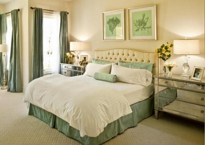 Colori per la camera da letto Green-A-SeaFroucker Decisione