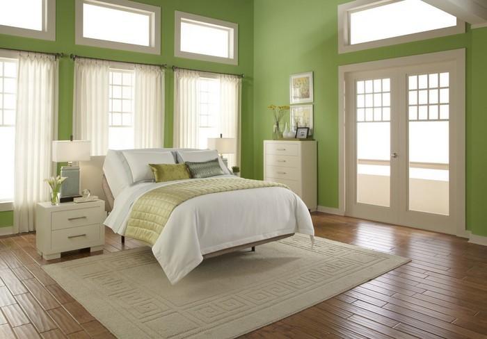 Colori per la camera da letto Green-A-Belle-Decisione
