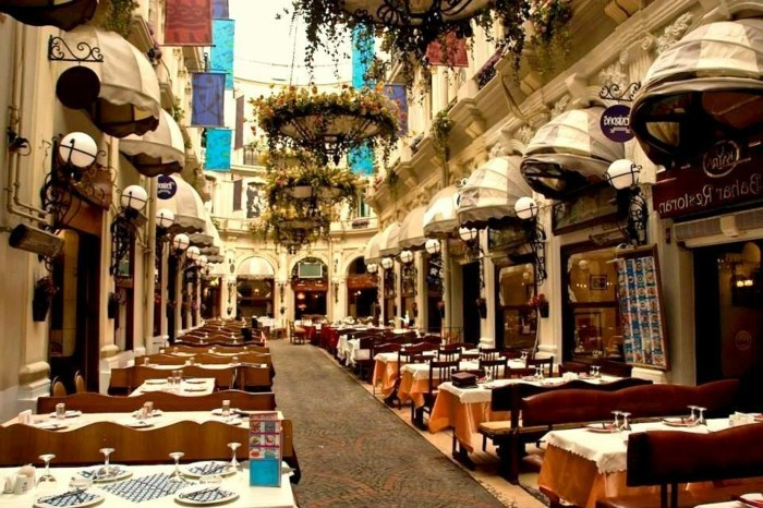 attractions et restaurants Istanbul