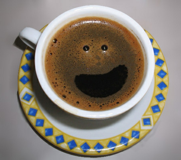 Café belle image Smiley faire yourself-