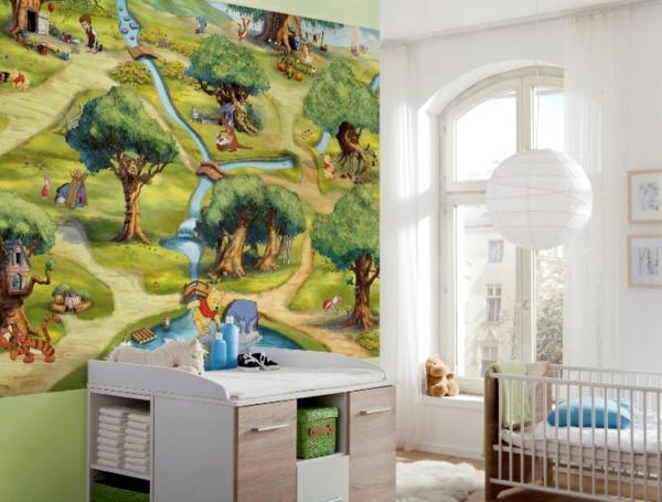 Haz paredes de guarder a hazlo m gico - Habitacion winnie the pooh ...