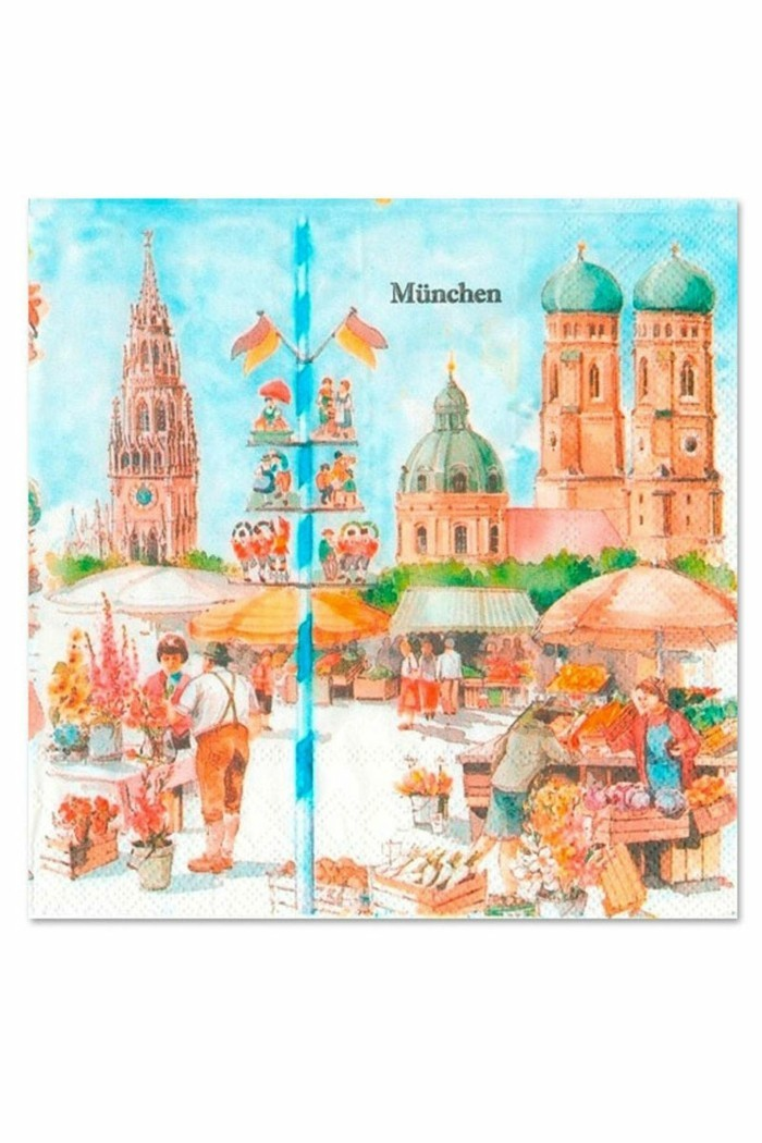 Octoberfest article-serviette-motif-Munich