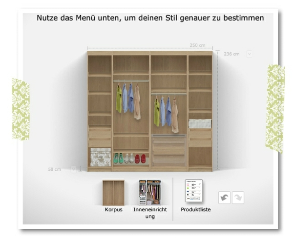 organizador de guardarropas ikea planifica el gabinete de tus sue os. Black Bedroom Furniture Sets. Home Design Ideas