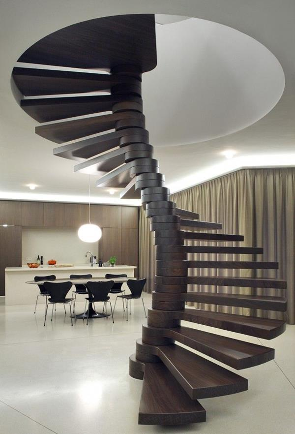 -Windeltreppe avec ultra-moderne conception