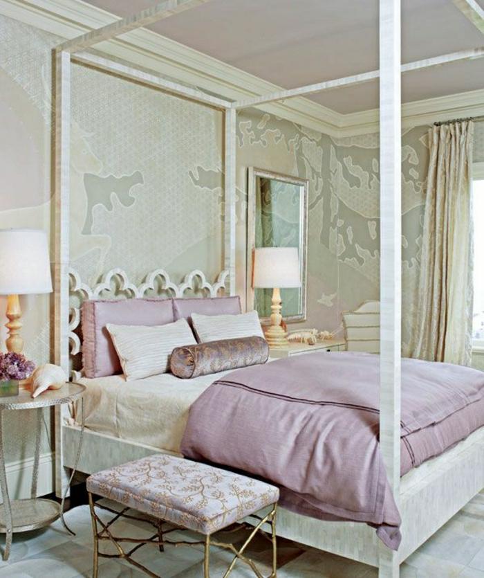 49 fantásticos modelos de ropa de cama de color púrpura