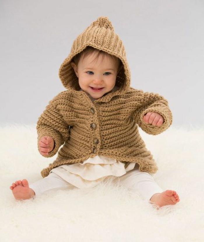 Suéteres para bebés que hacen punto: grandes ideas y patrones