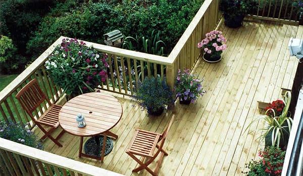 Diseño Moderno De Terraza De Madera 27 Sugerencias Geniales