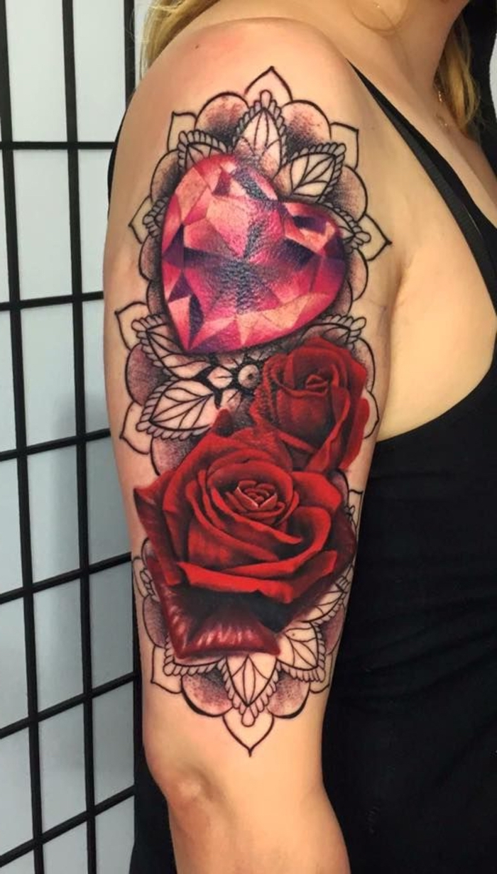 47 Velikih Ružičastih Ideja Za Tetovažu