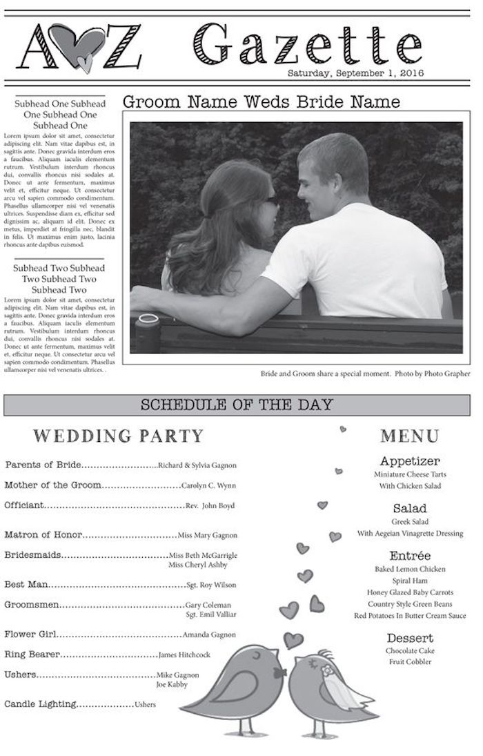 olcsó menyasszony újság