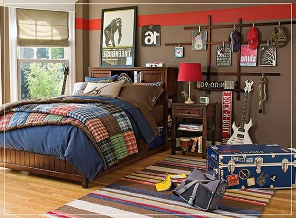 110 sjajnih ideja postavite sobu za mlade. Black Bedroom Furniture Sets. Home Design Ideas