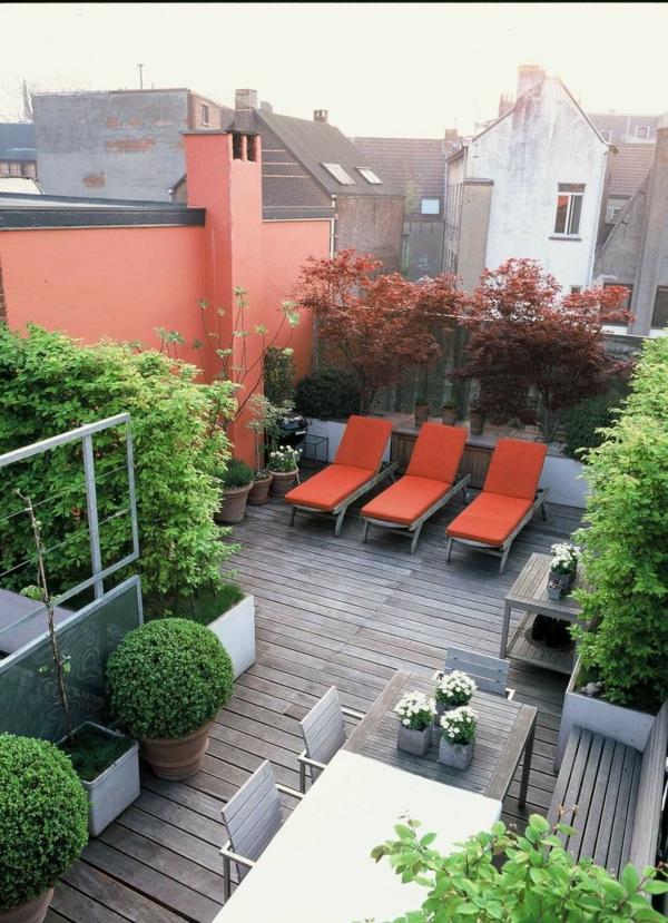 Piso De La Terraza Hermosas Variantes Para El área Al Aire