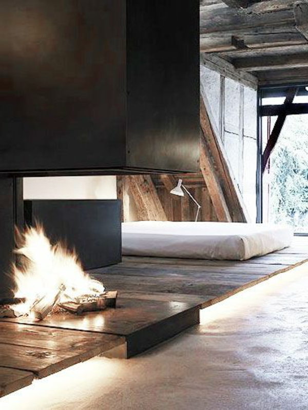 dormitorio-moderno-design-with-a-chimenea