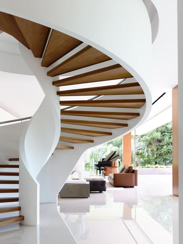 super bel escalier avec ultra-moderne Nappy conception
