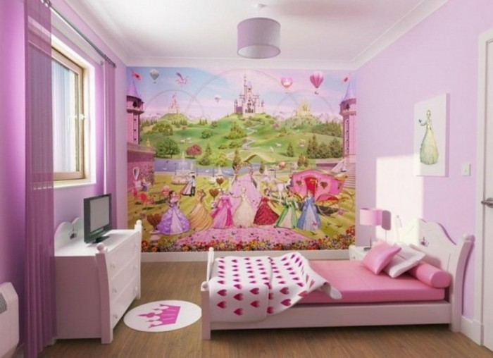 tapéta-for-girl-rózsás-design-nagyon-nagy-picture-on-the-wall