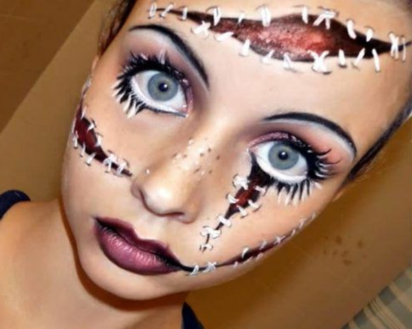 amazing Halloween make-ajatus-