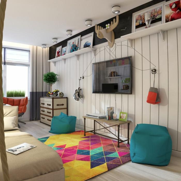 kinderzimmer junge 115. Black Bedroom Furniture Sets. Home Design Ideas